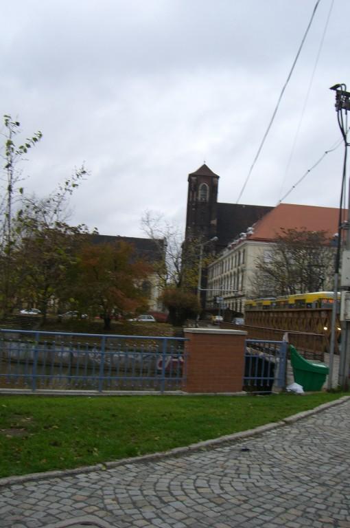Blick zurück Sandkirche