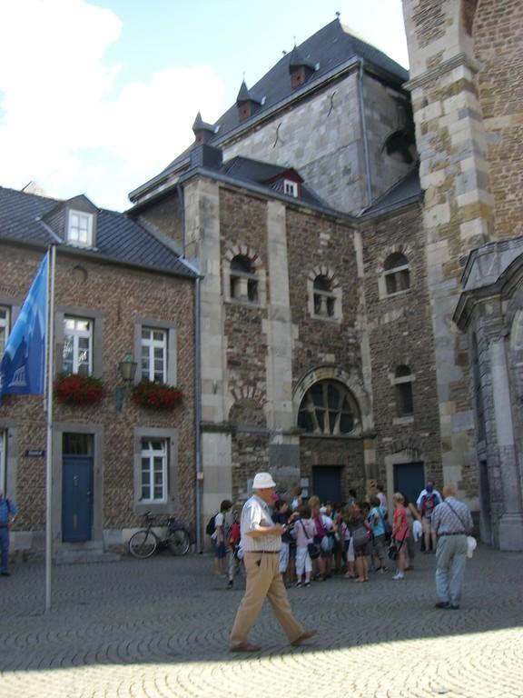 Aachen Eingang zur Schatzkammer