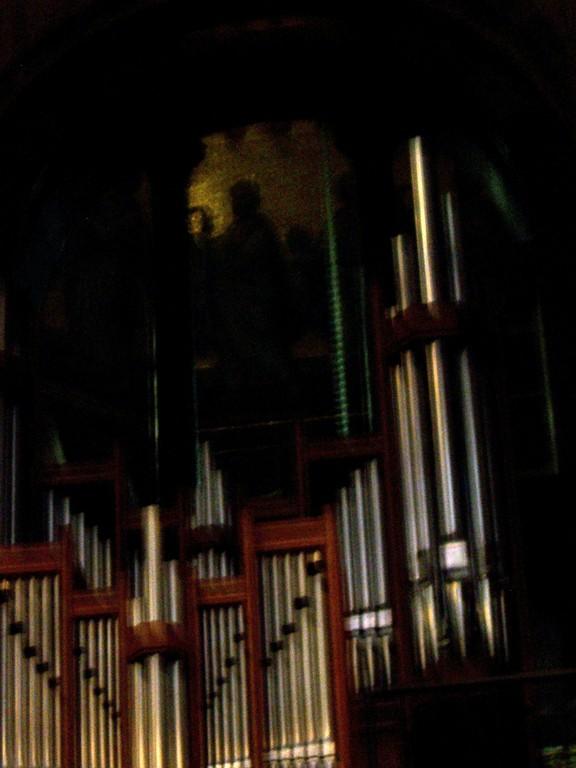 Oktogon Orgel