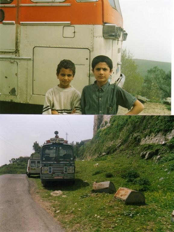 kleine Kavaliere und unser Bus
