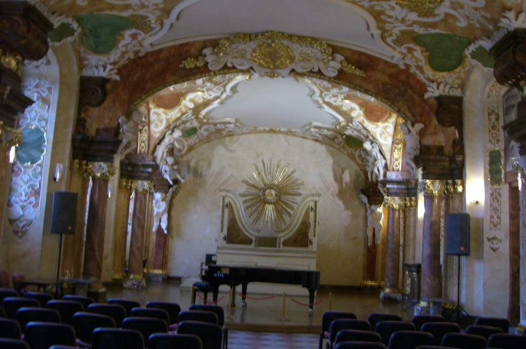 Auditorium Flügel Joh.S. Bach spielte auf ihm
