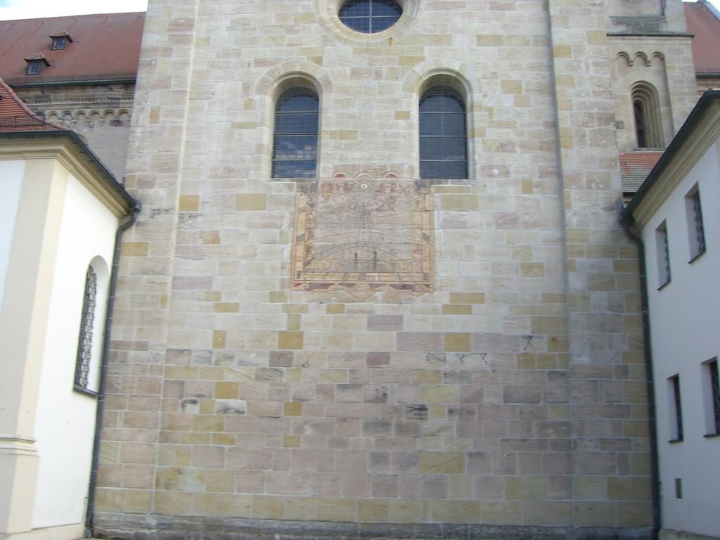 Ellwangen St. Vitus Sonnenuhr
