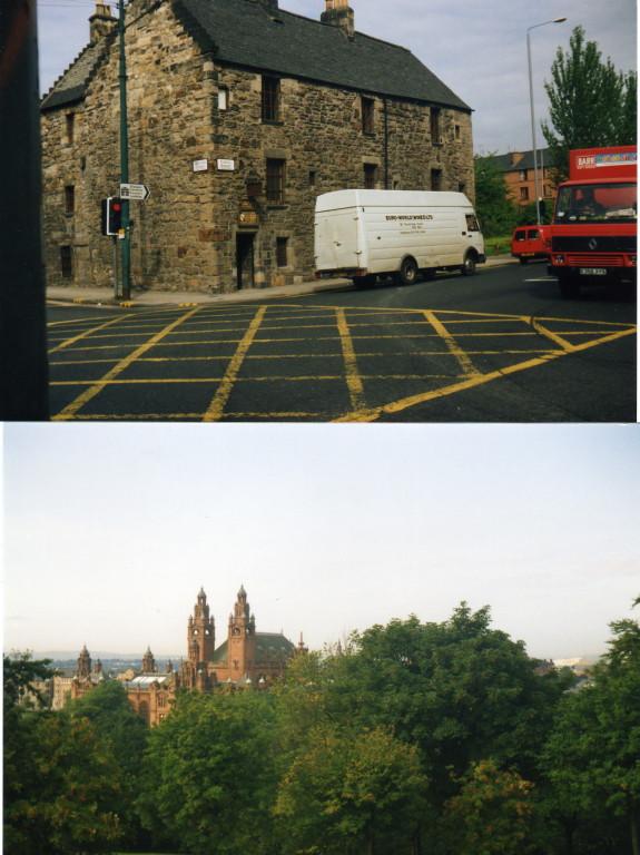 Glasgow Ältestes Haus - Übernachtung Maria Stuart