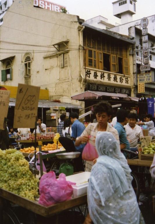 Kuala Lumpur auf dem Markt