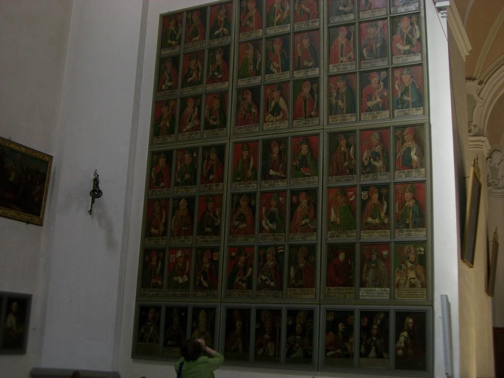 St. Vitus Tafel der  Dompröbste