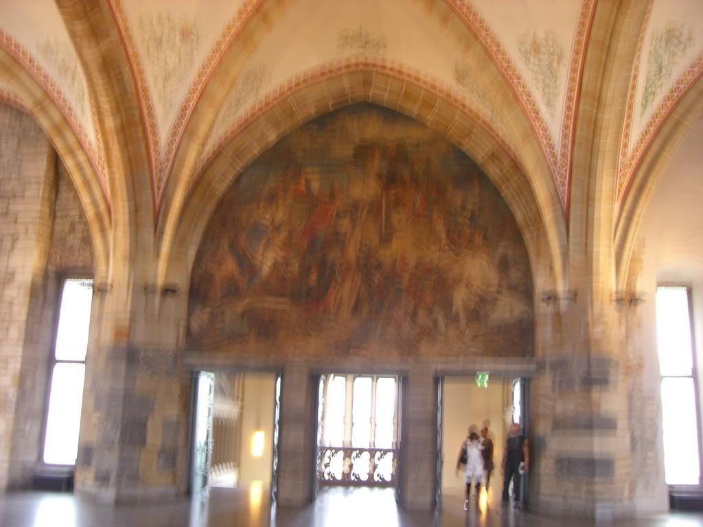 Kaiser - oder Krönungssaal 1349 - 45 m lang 18,5 m breit