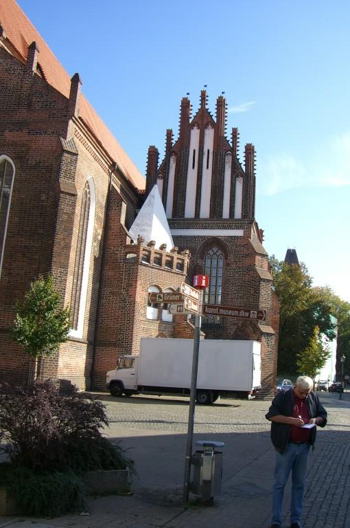 Blick auf Sankt Nicolai