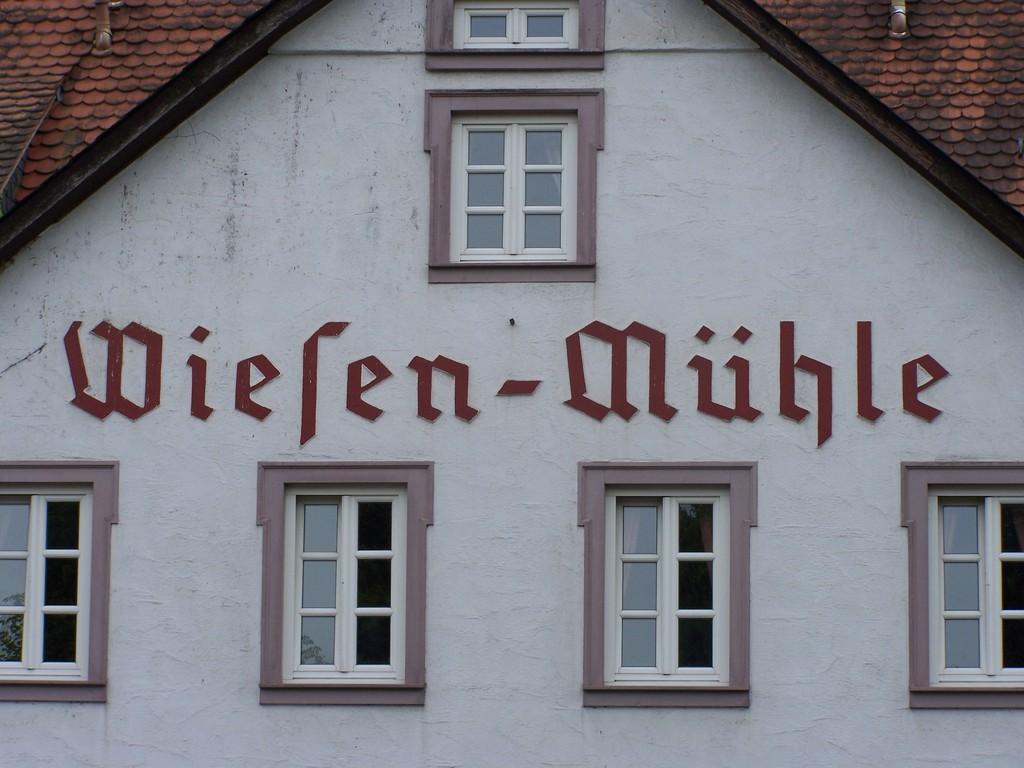 Brauhaus Wiesen-Mühle sehr gut