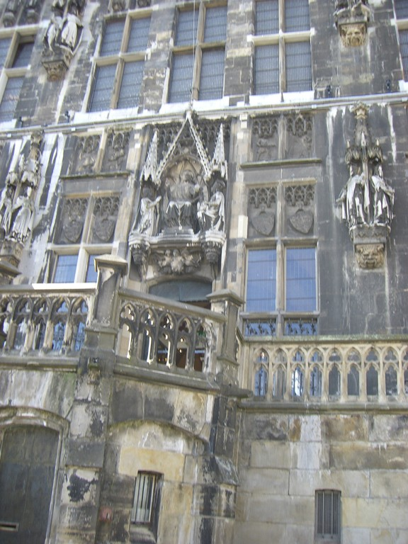 Eingangstreppe Rathaus