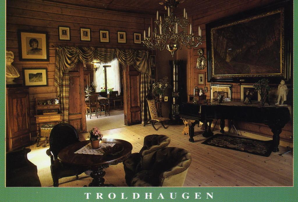 Trodelhagen Grieg Musikzimmer