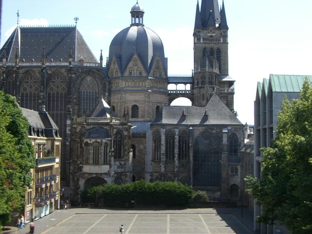 Blick zum Dom vom Kaisersaal