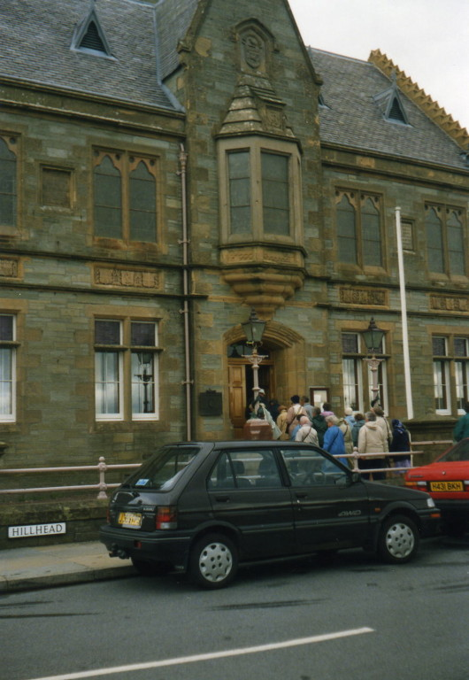 Lerwick Rathaus