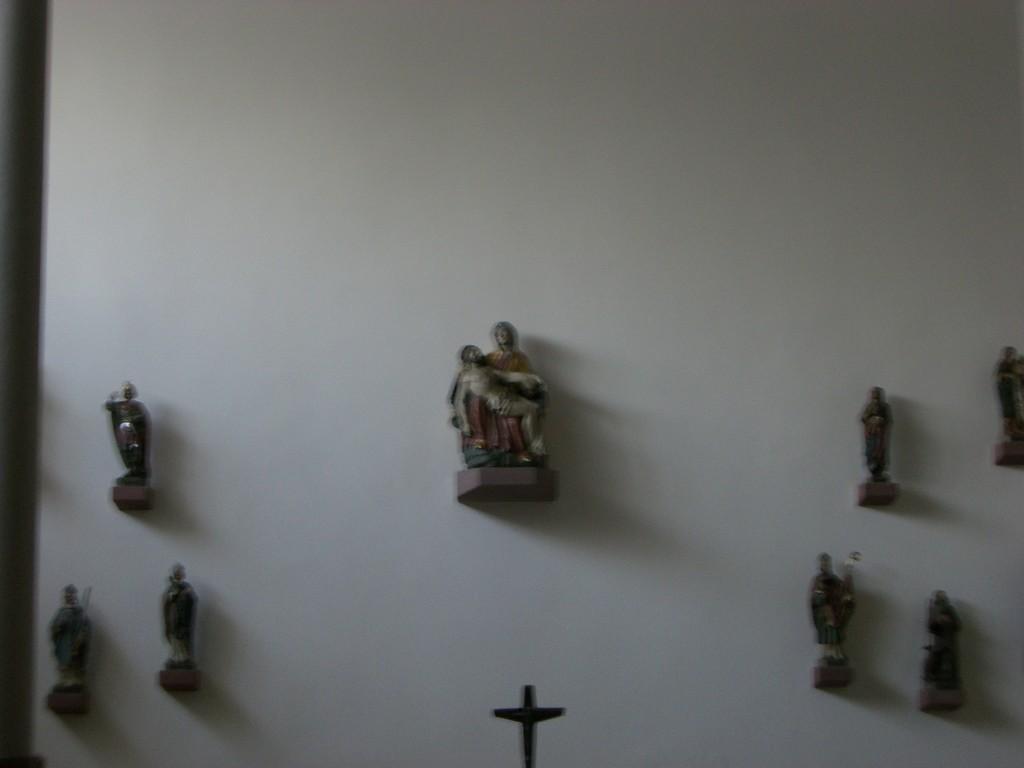Altar der kleinen Kapelle