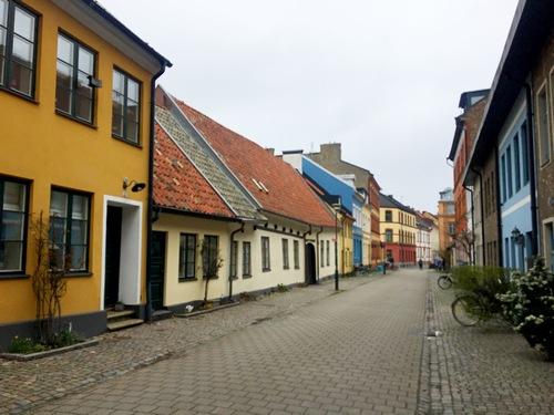 Malmö -Svezia - Malmo - centro storico - case colorate - Scandinavia