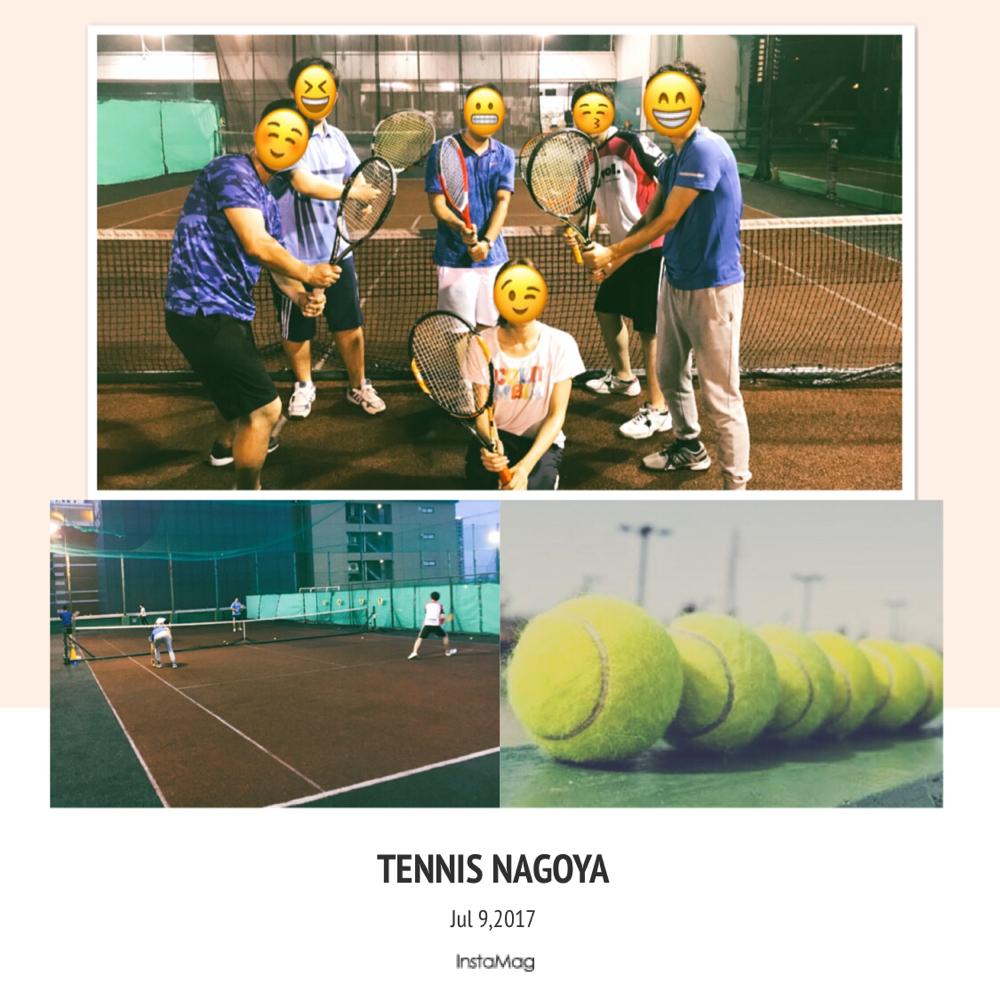 7/9テニス