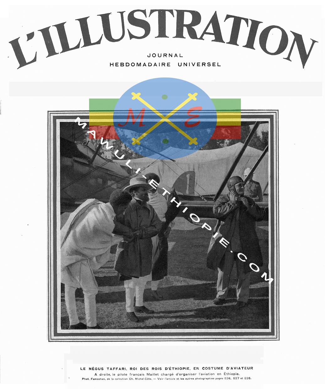 Ras Tafari au bourget 1924 Mawuli Ethiopie Plateforme Solidaire France Ethiopie  Equitable Vêtements Robes écharpes habesha Café Epices Ethiopiennes Artisanat .jpg