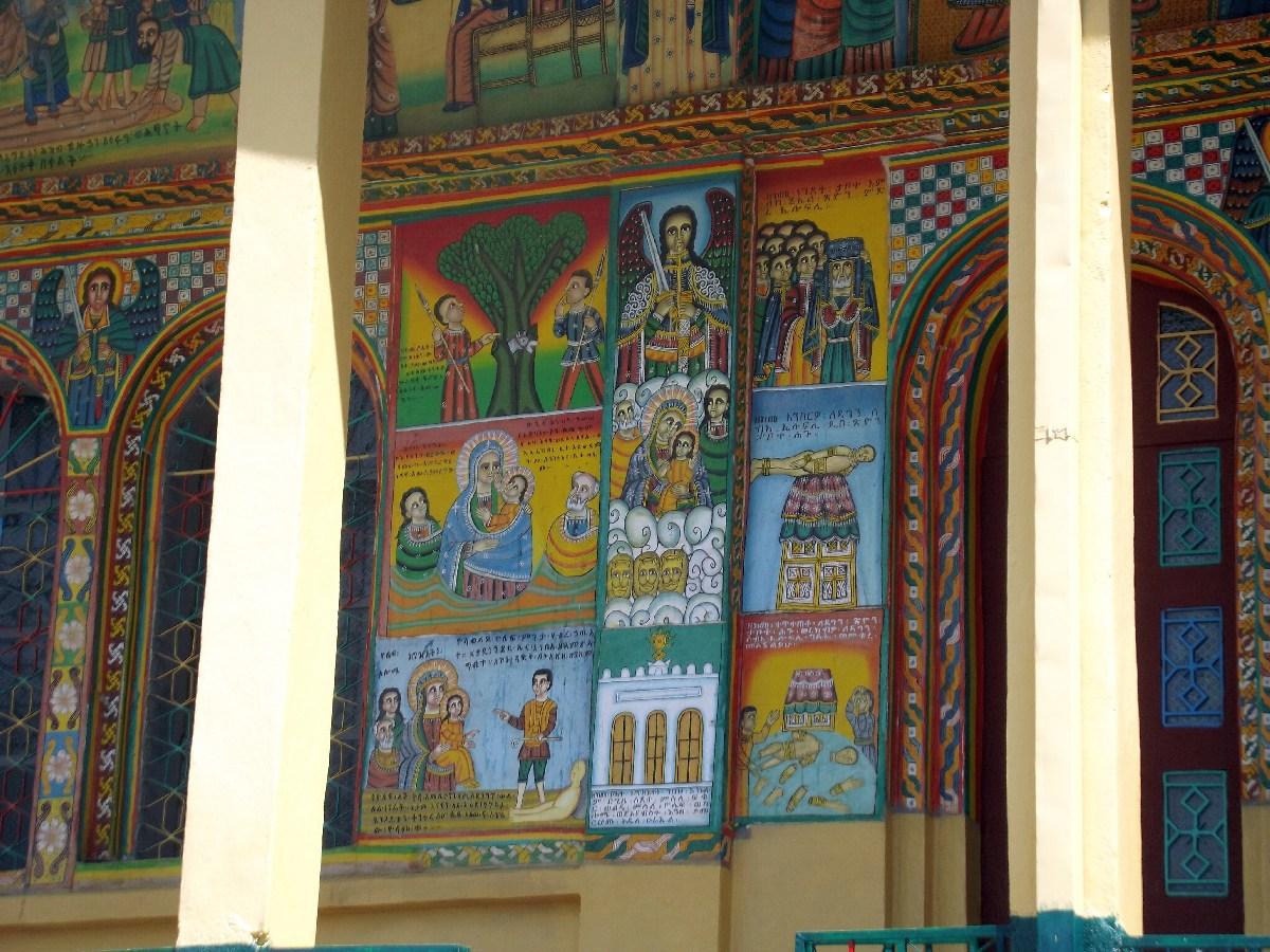 Voyage Séjour Trekking et randonnée, Road Trip en Ethiopie. Visite d'Axum en Ethiopie.  le monastère d'Axum.