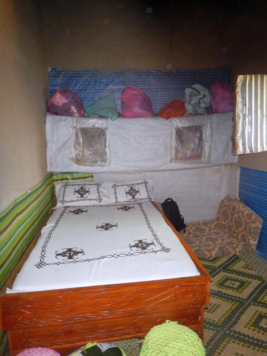 La Chambre à coucher. Trek, randonnée et visite de la communauté Awra Amba en Ethiopie.