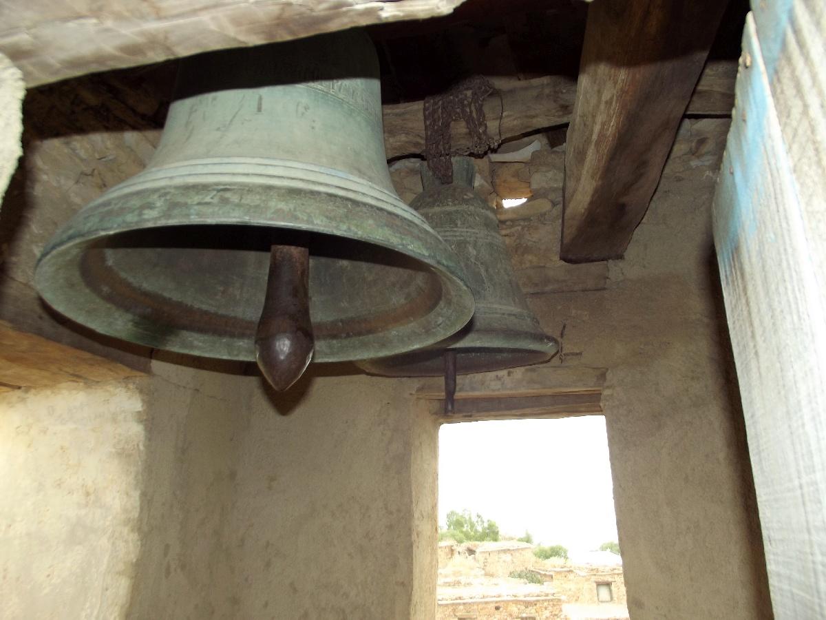 Les cloches du Minaret du monastère de Dabra Damo. Visite, trek et randonnée à Debre Damo en Ethiopie.