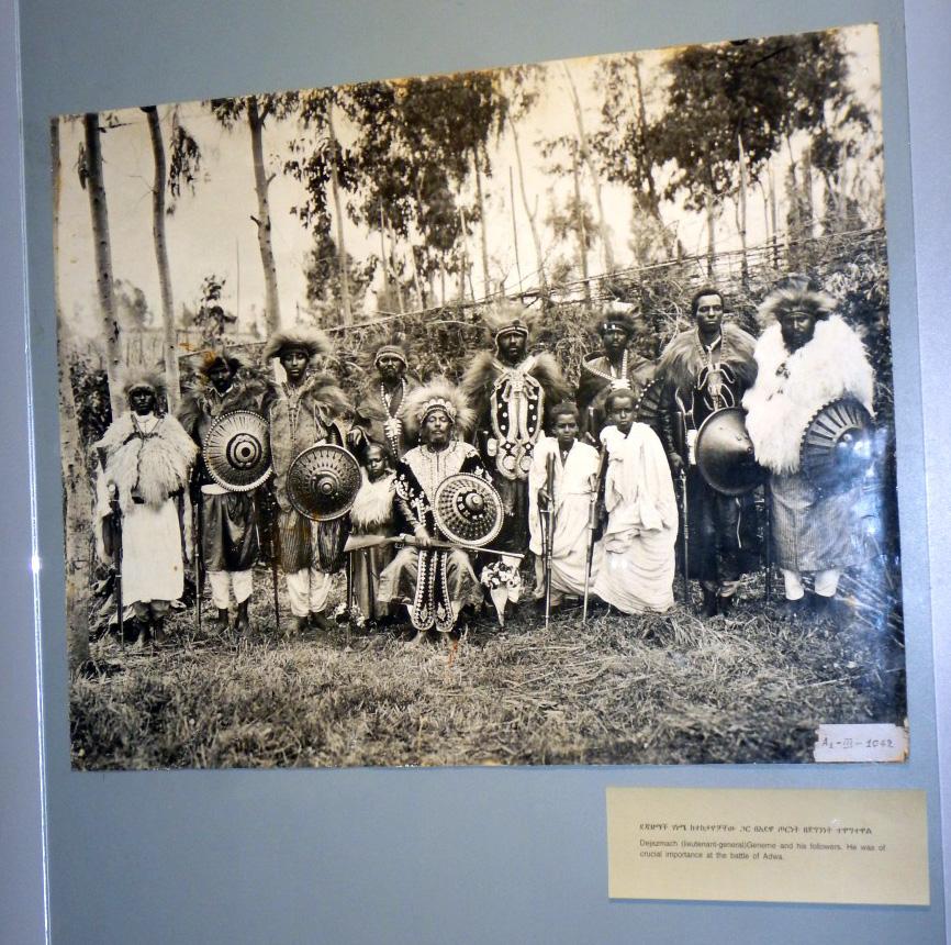 Héros d'Adwa 1896. Voyage Séjour Trekking et randonnée, Road trip en Ethiopie.  Région Amhara. Visite du Addis Abeba Muséum en Ethiopie.