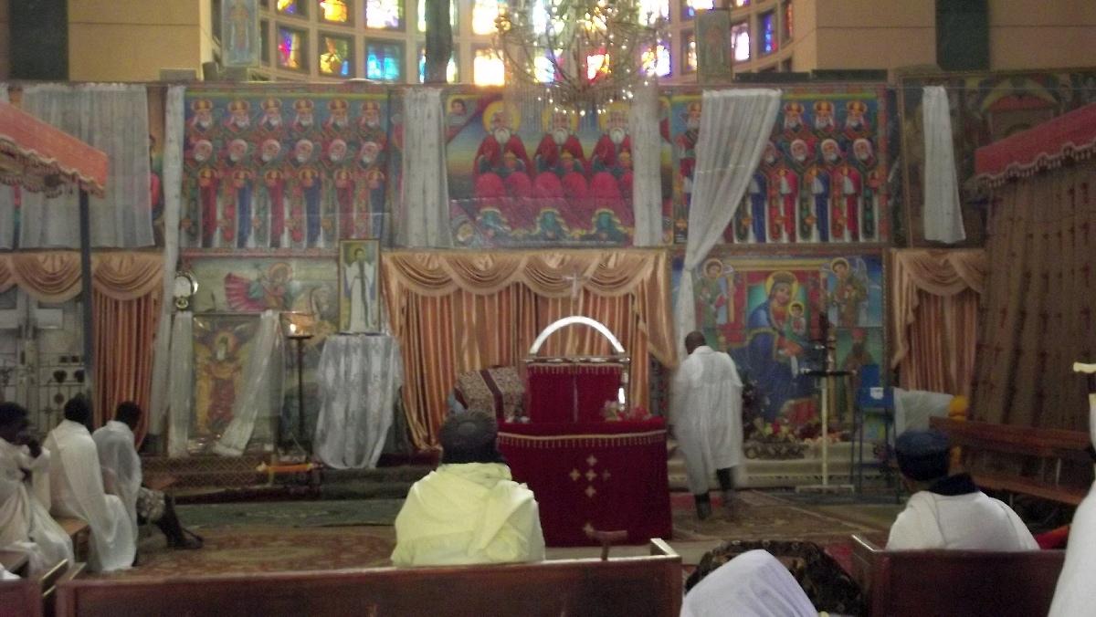 L'Hotel du St sépulcre. Voyage Séjour Road Trip Trek Trekking Randonnée en Ethiopie. Debre Libanos. Eglise de Debre Libanos en Ethiopie