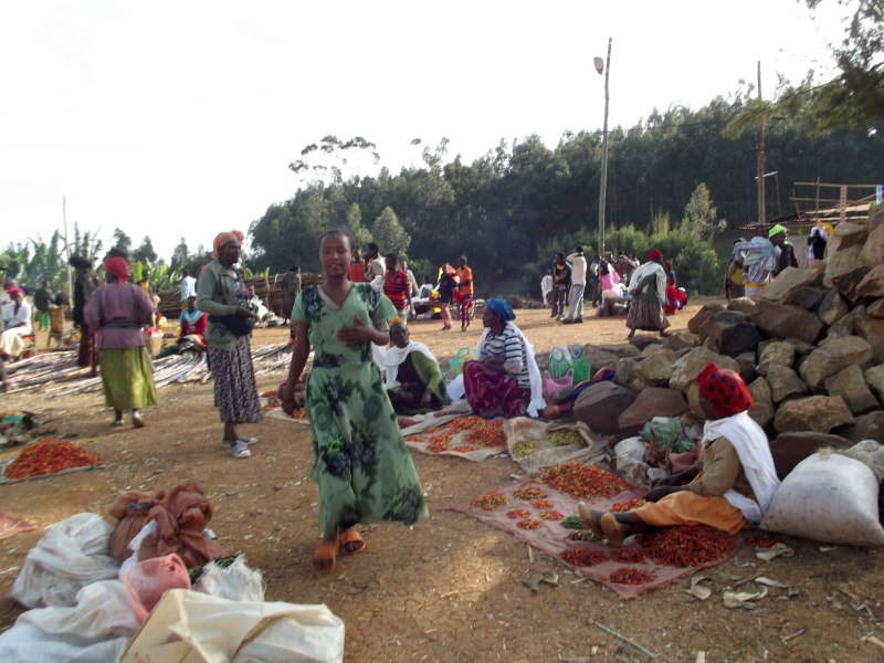 Dorze's Market in Ethiopia