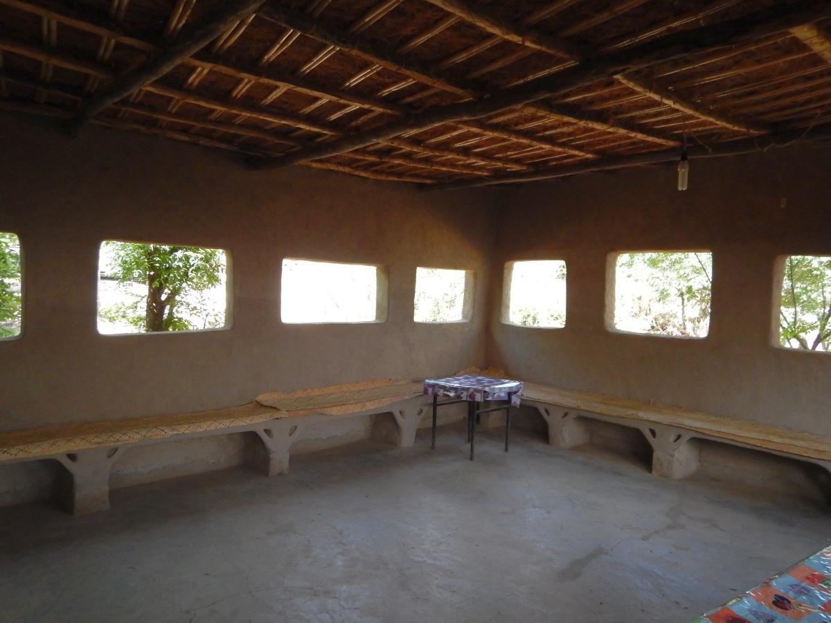 Le restaurant Awra Amba en Ethiopie.Voyage Séjour Trekking et randonnée, Road Trip en Ethiopie.  Région Amhara. Visite de la communauté Awra Amba en Ethiopie.