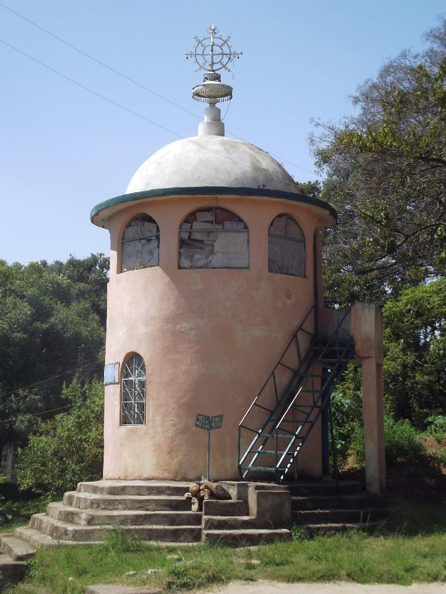 Trek, randonnée et visite d'Axum en Ethiopie, le monastère d'Axum.