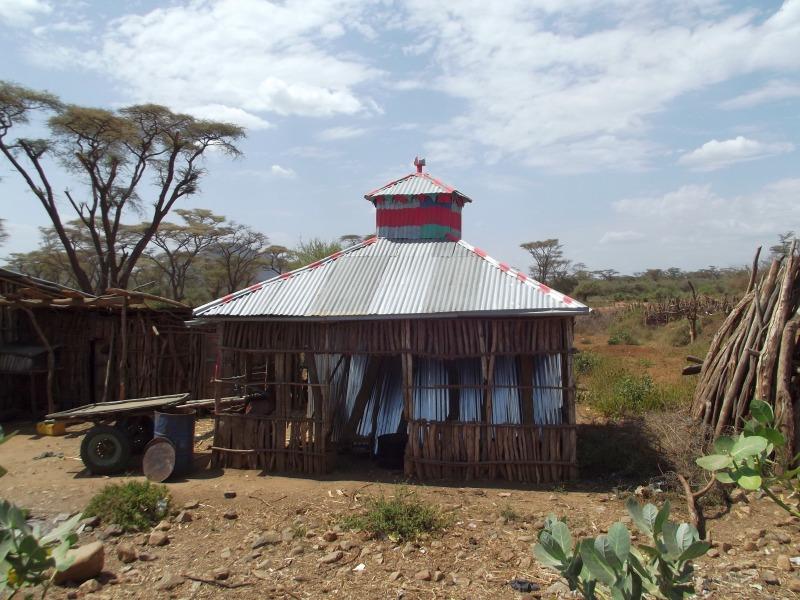 La Faune Les Dassanech, le village à Omorate en Ethiopie. Voyage Séjour Trek Trekking Randonnée Road Trip en Ethiopie Visite de la Vallée de l'Omo en Ethiopie.