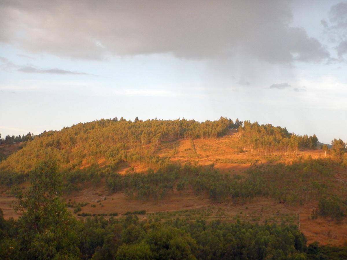 Quelques couchés de soleil sur Gondar
