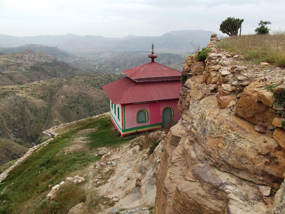 Voyage Séjour Road Trip Visite trekking et randonnée. Autour du monastère de Debre Damo en Ethiopie.