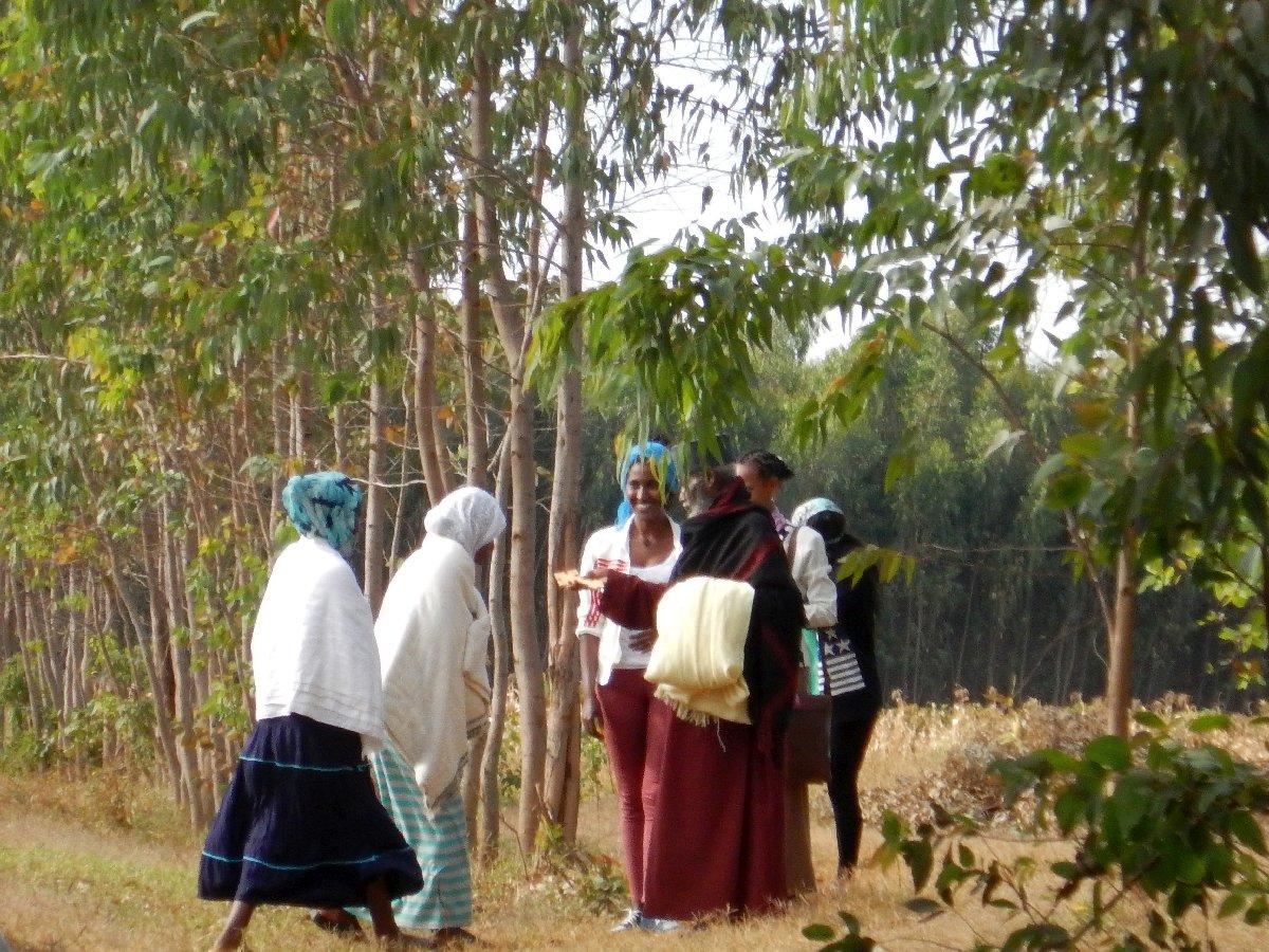L'Abuna orthodox éthiopien nous donne sa bénédictions pour le voyage