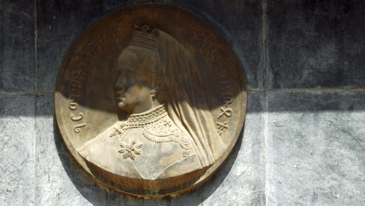L'Impératrice Zawditu. Trek, randonnée à Addis Abeba. Visite de la gare d'Addis Abeba en Ethiopie.