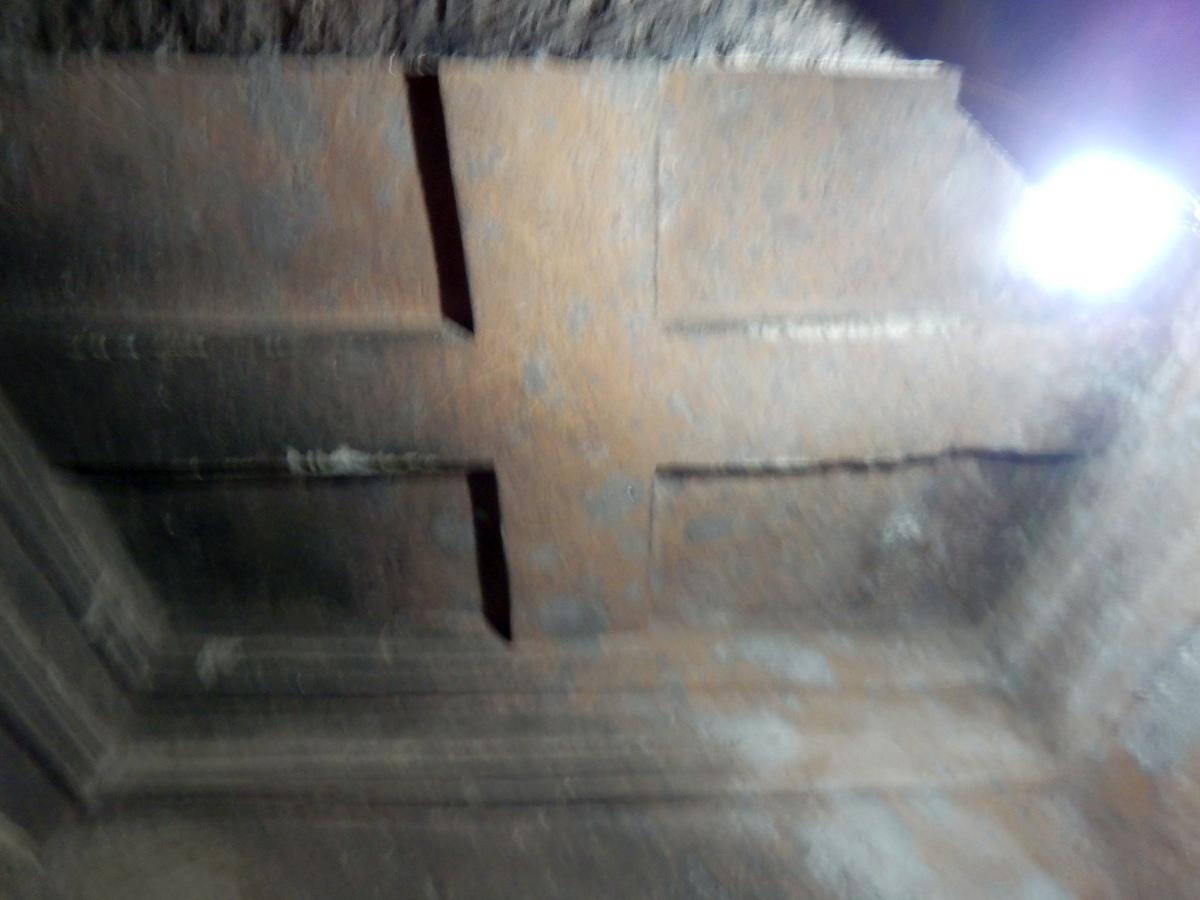 Visite de Beta Meskel, l'Eglise de la croix à Lalibela en Ethiopie Trek à  Lalibela Voyage Séjour Trekking Randonnée Road Trip en Ethiopie.