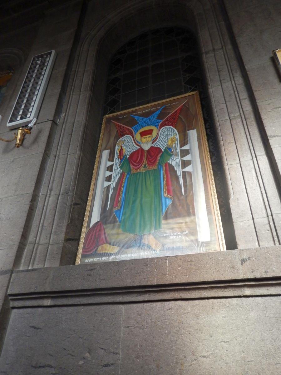 Holy Takla Haymanot. Visite du Mausolé de Ménélik II (Eglise Beta Maryam) à Addis Abeba en Ethiopie.