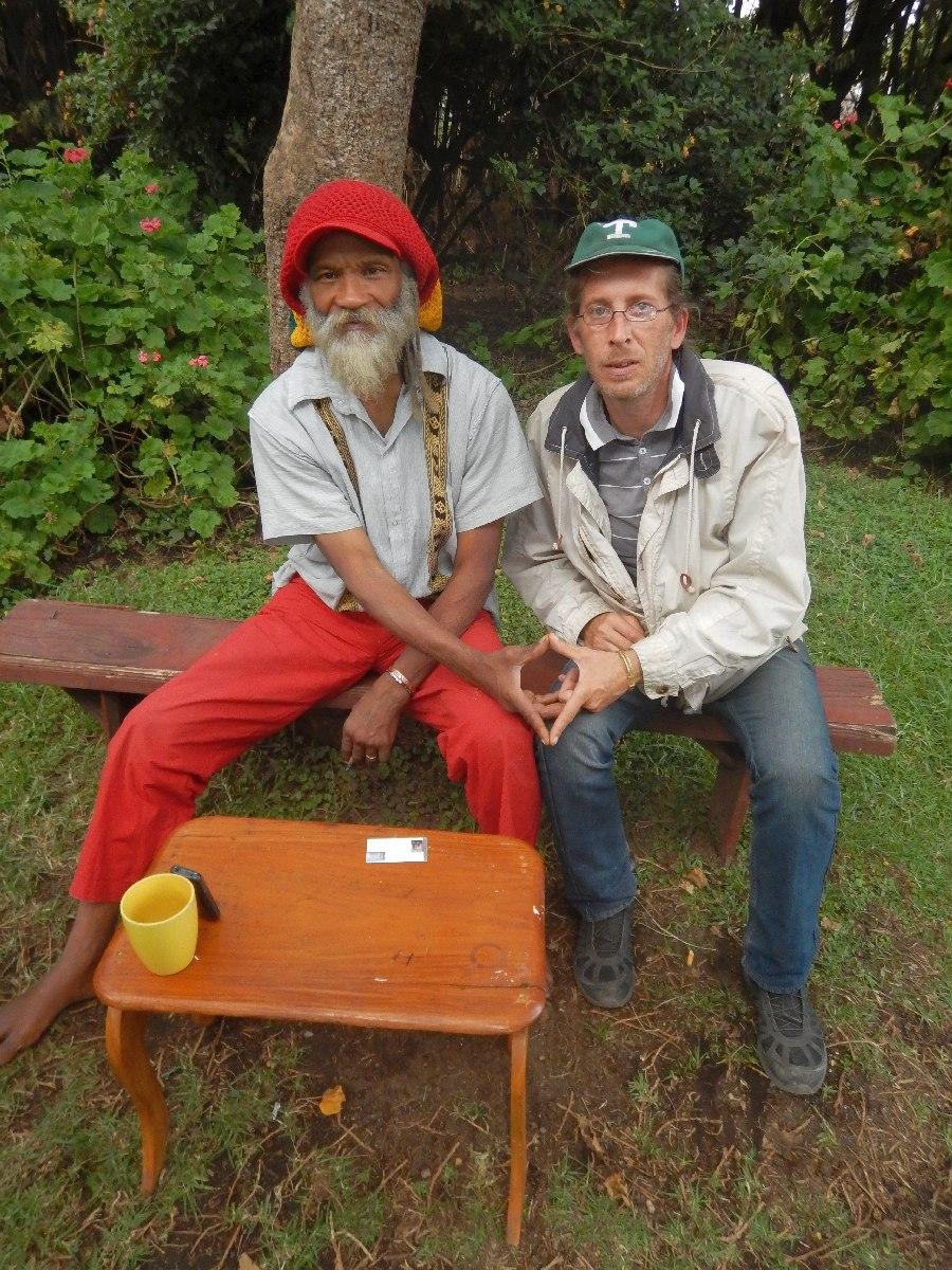 Ras Kawintseb et Pascal Mawuli Macé