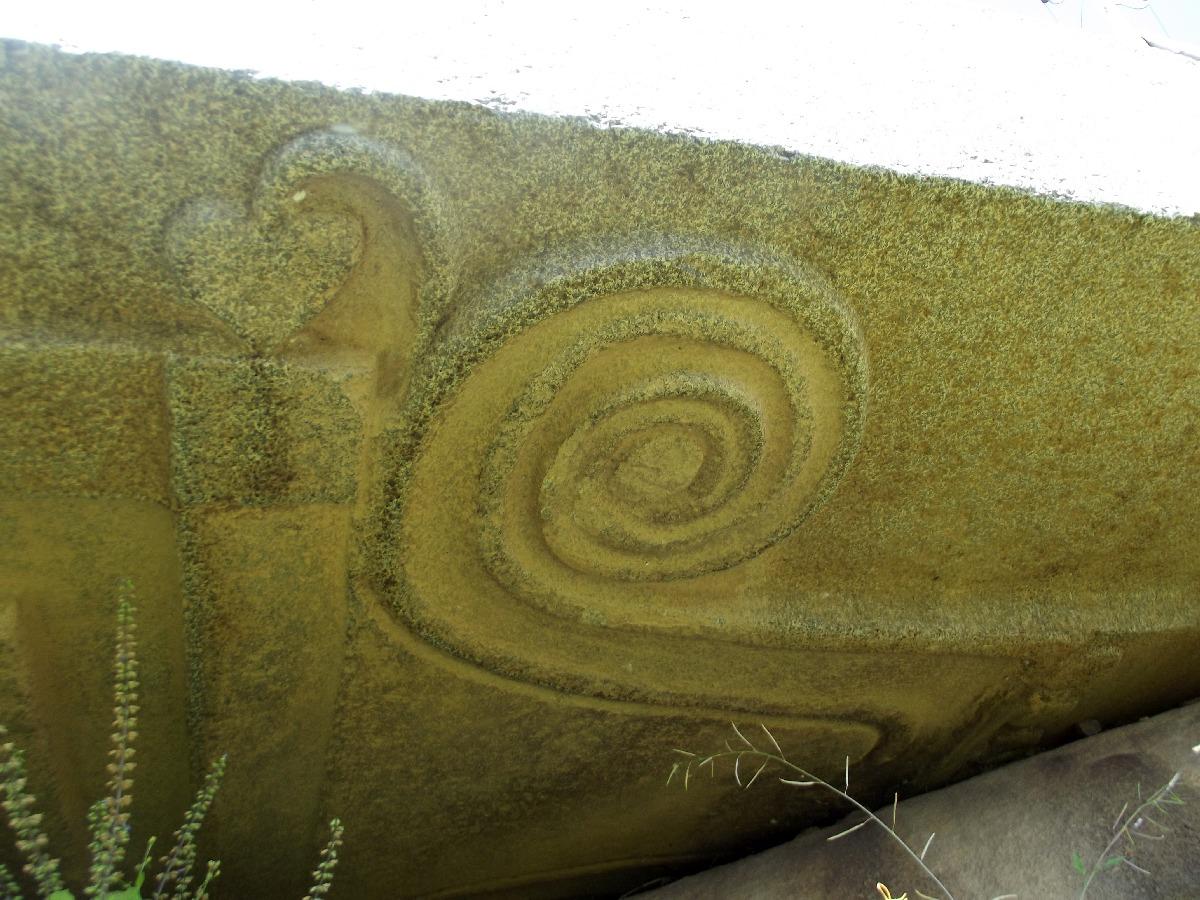 Le symbole du Lion de Judah du Roi Ezana. Trek, randonnée et visite d'Axum en Ethiopie, les Stèles d'Axum