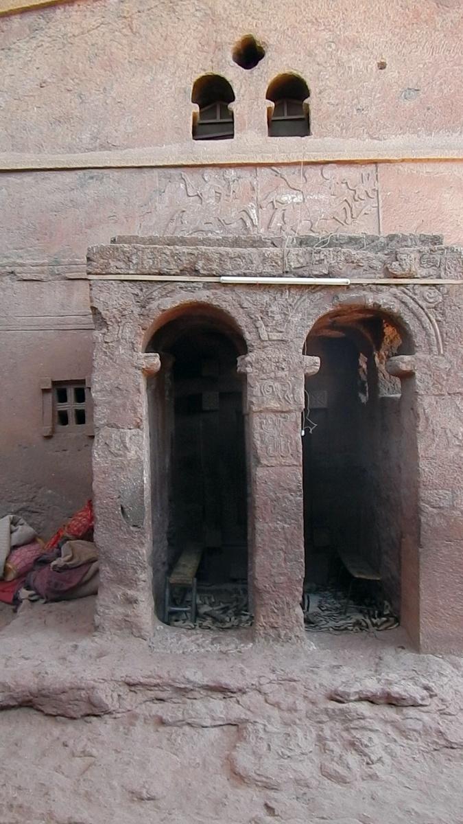 Visite de l'église Beta Maryam de Lalibela en Ethiopie  Trek à  Lalibela Voyage Séjour Trekking Randonnée Road Trip en Ethiopie.