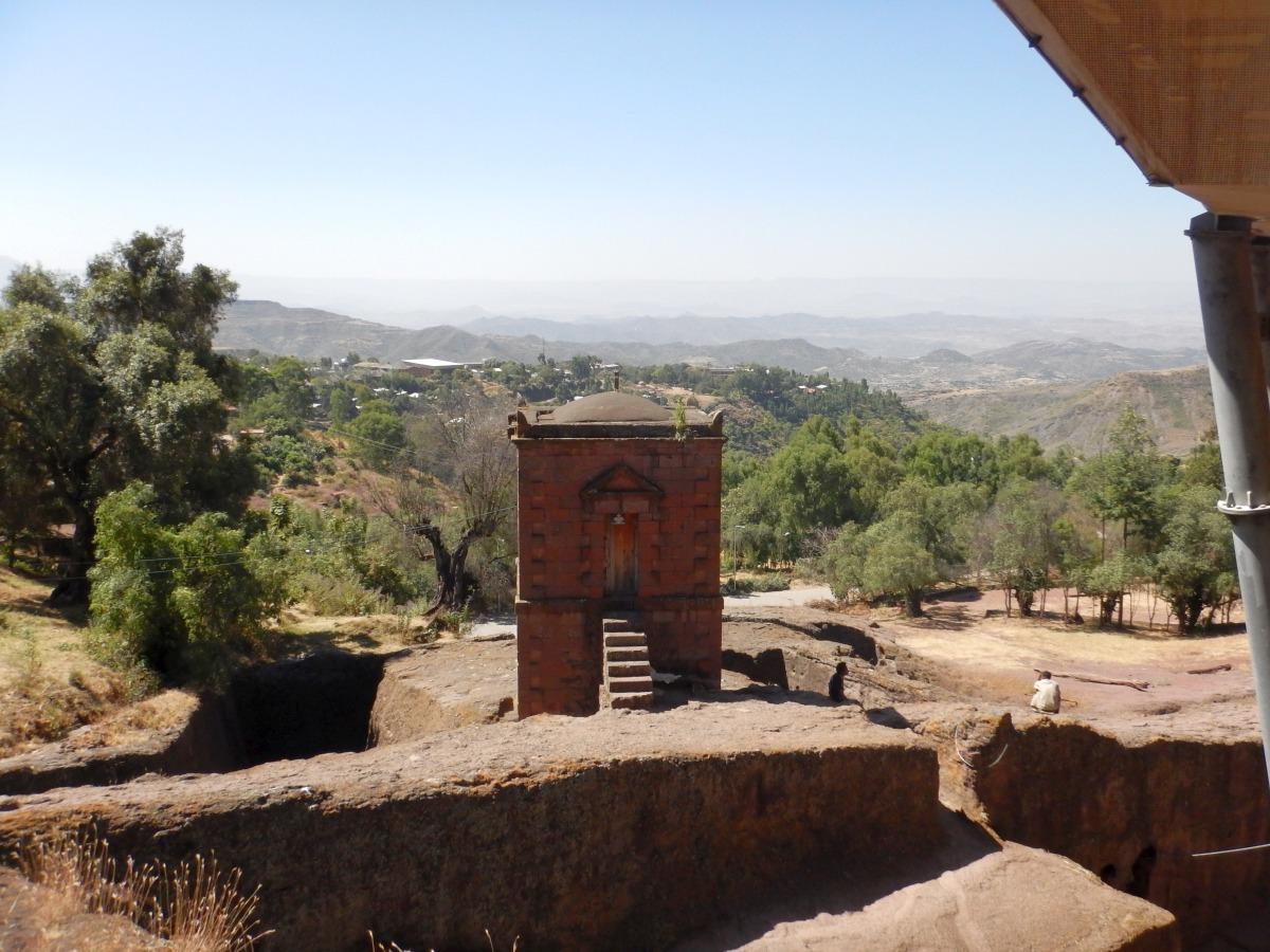 Selassie Chapel at Lalibela, Ethiopia.  Trek à  Lalibela Voyage Séjour Trekking Randonnée Road Trip en Ethiopie.