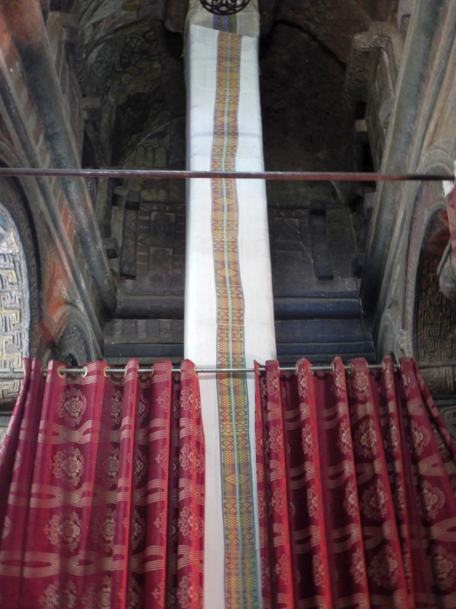 Le Pilier de la Fin du Monde. Visite de l'église Beta Maryam de Lalibela en Ethiopie  Trek à  Lalibela Voyage Séjour Trekking Randonnée Road Trip en Ethiopie.