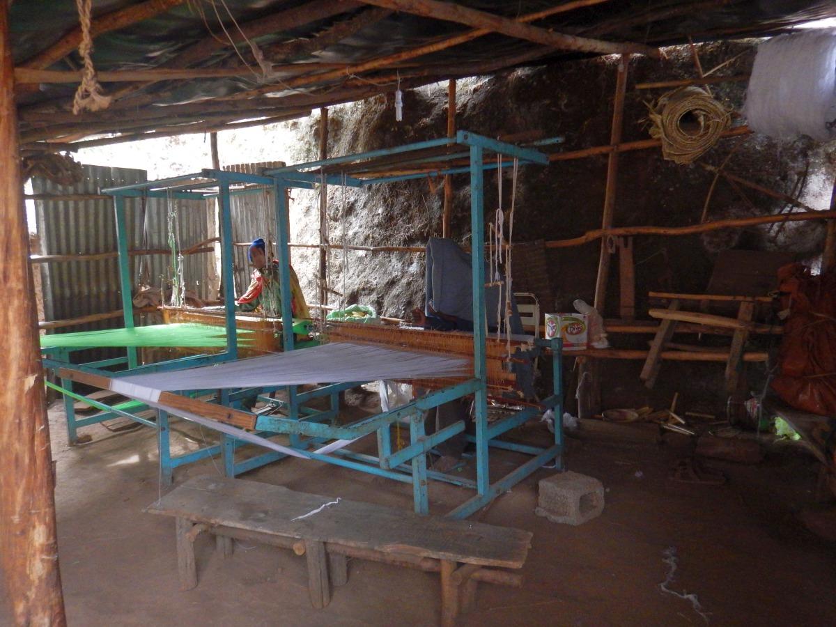 L'atelier des moines de Lalibela. Visite du monastère de Lalibela en Ethiopie