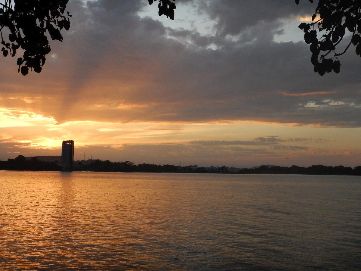 Sunset on the Lac Tana Ethiopia