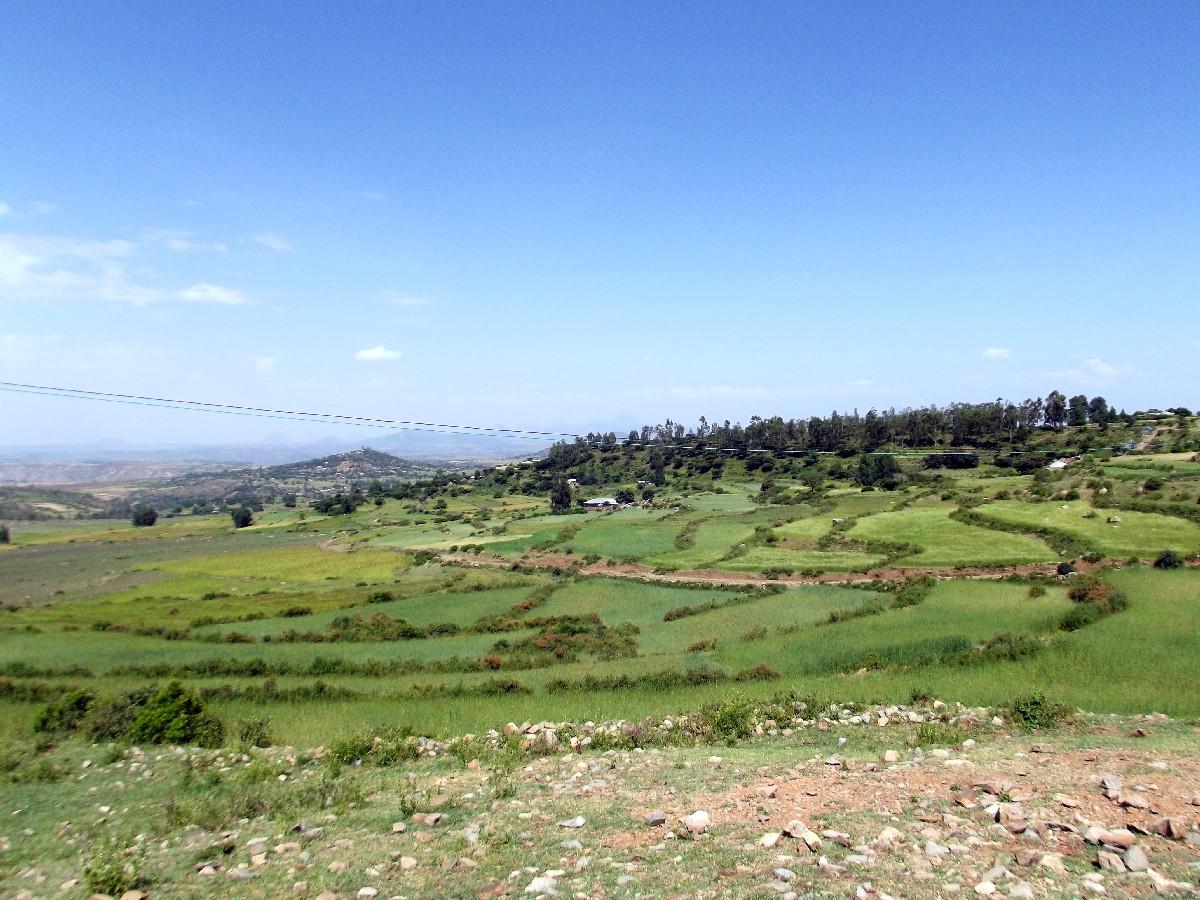 Trek, randonnée et visite d'Axum en Ethiopie. Les Tombes du Roi Kaleb et de son fils le Roi Gebre Meskel (Gabra Masqal)
