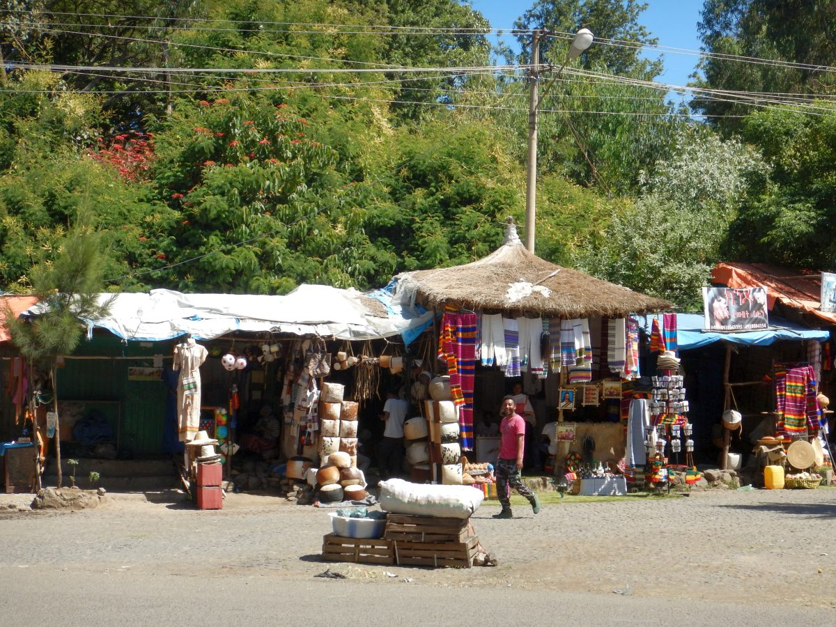 Voyage Séjour Road Trip Trek Trekking Randonnée en Ethiopie. Gondar en Ethiopie, la ville et ses faubourgs