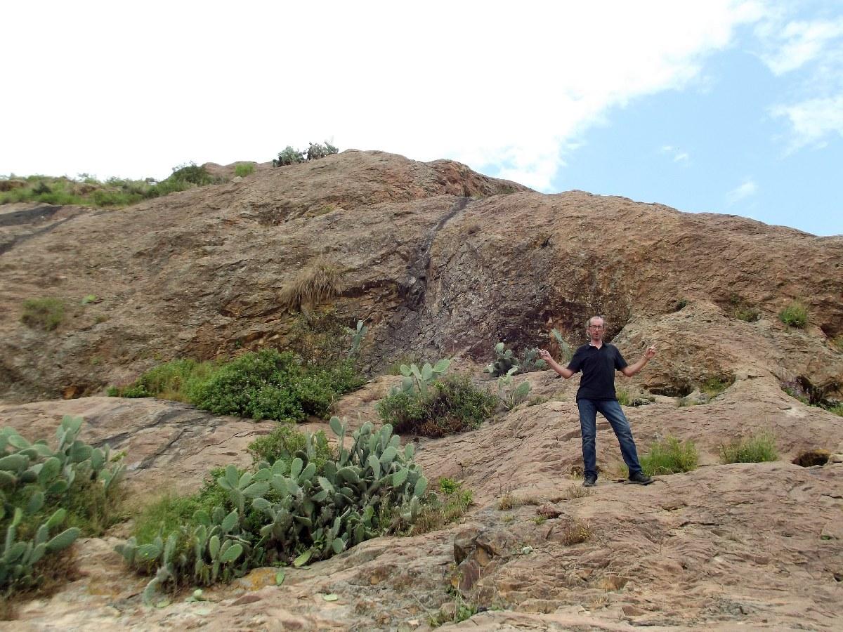 Trek, randonnée et visite d'Axum en Ethiopie. La Piscine de la Reine de Saba