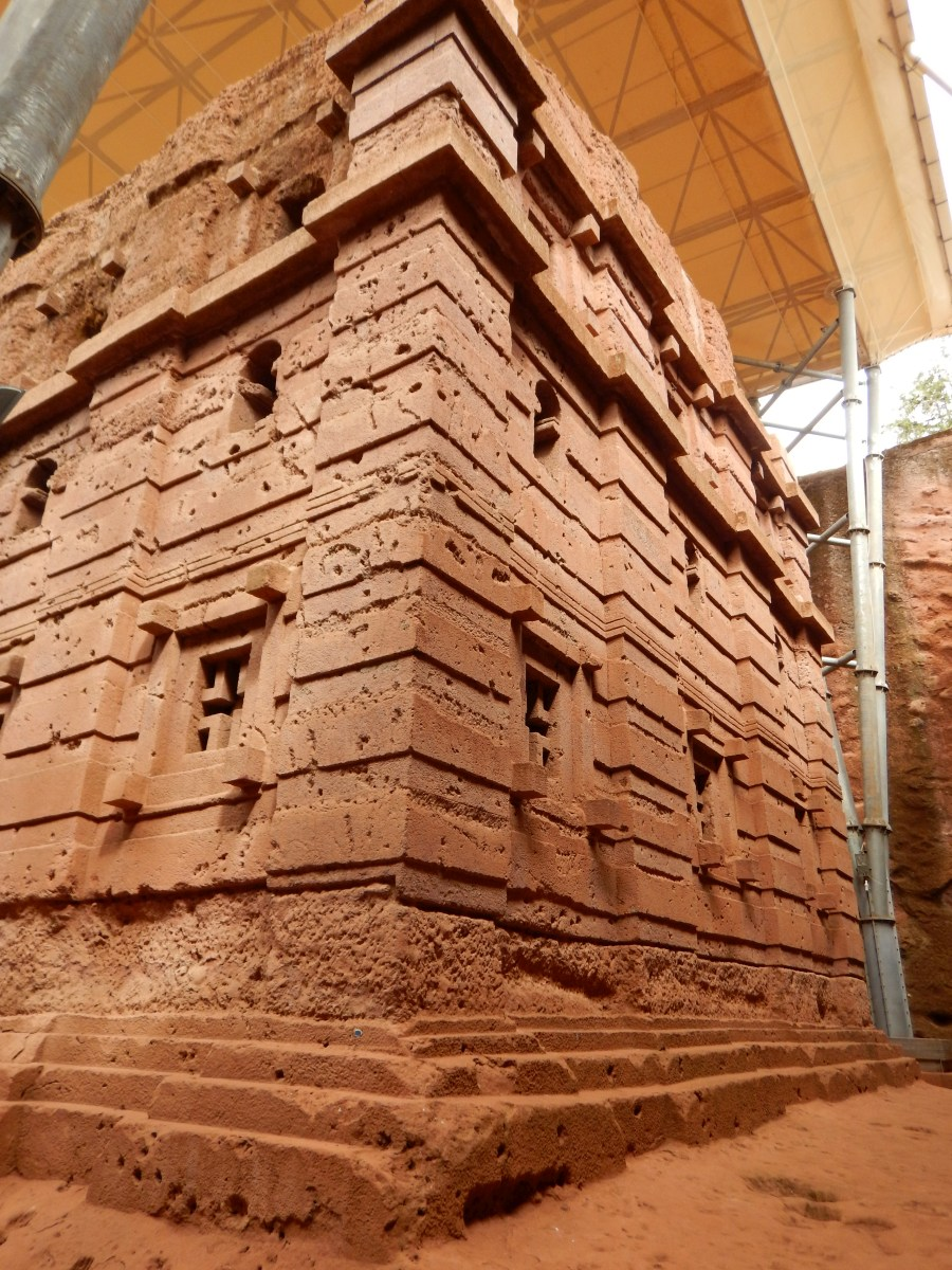 Visite de l'église monolithique Bet Amanuel de Lalibela en Ethiopie