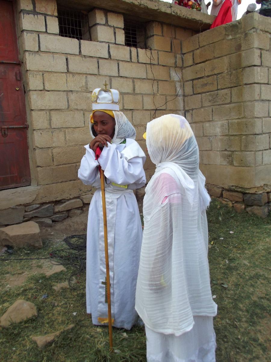 Voyage, séjour, Road Trip, Trekking, randonnée visite d'Adigrat en Ethiopie. Célébration de la fête de Meskel.
