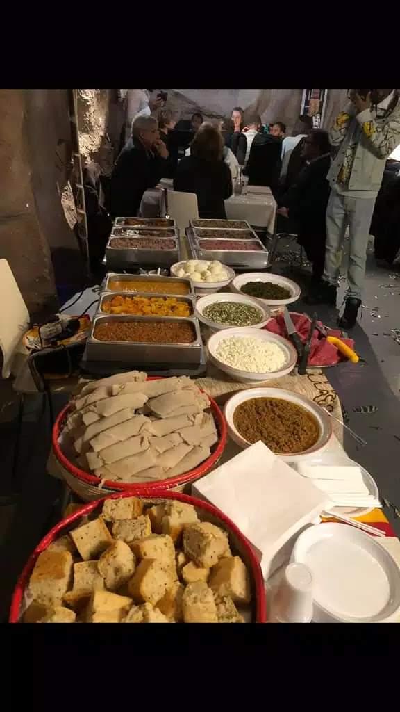 Le Buffet du Restaurant Lalibela de Clermont Ferrand 63000 France
