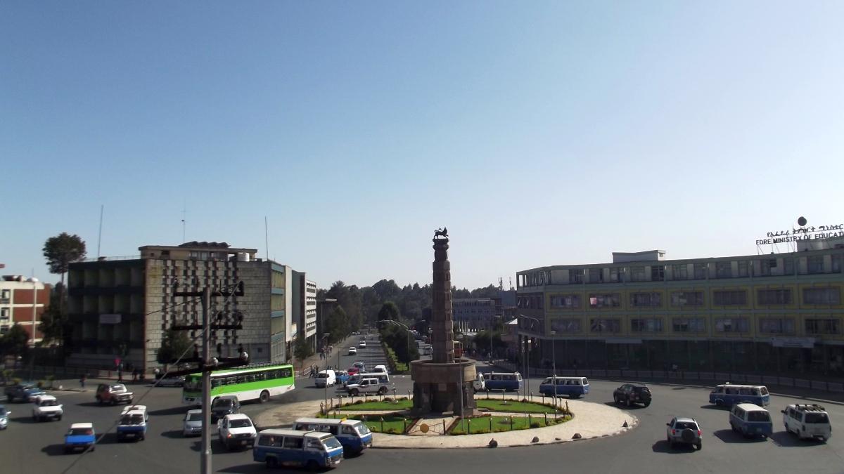 Arat Kilo.  Trek, randonnée et visite d'Addis Abeba.