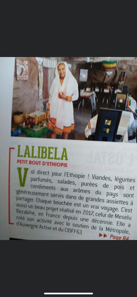 Restaurant éthiopien Lalibela à Clermont Ferrand. Mawuli-Ethiopie Restaurants éthiopiens Cuisine éthiopienne Injira Association Plateforme Commerce Artisanat Ethiopien Solidaire Equitable en Ethiopie Made in Ethiopie.